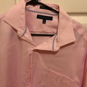 Men's Tommy Hilfiger pink  dress shirt